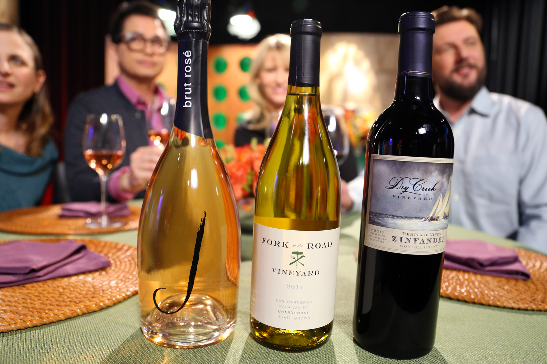 Wine that guests drank on the set of season 13 episode 9.