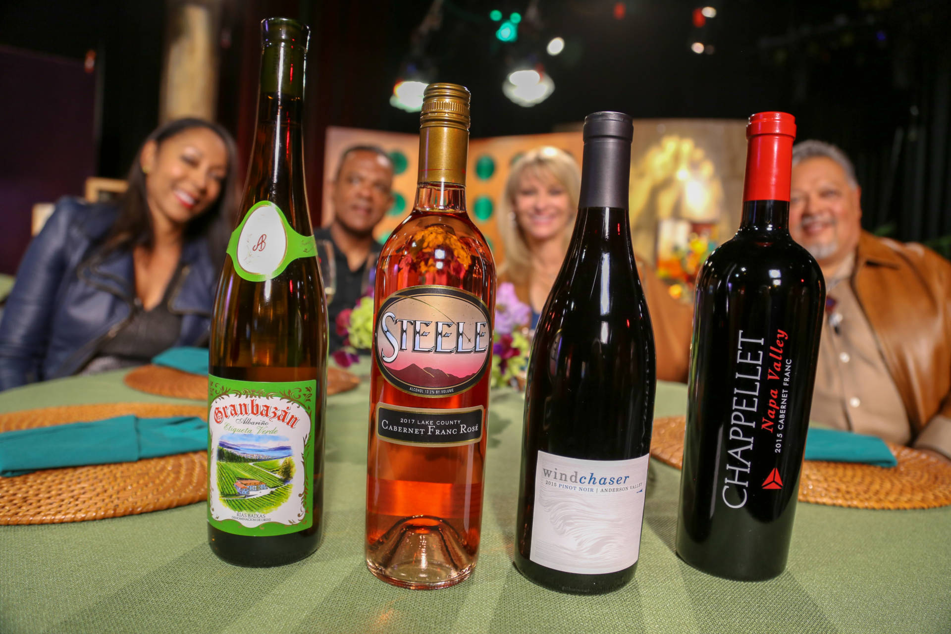 Wine that guests drank on the set of season 13 episode 11.