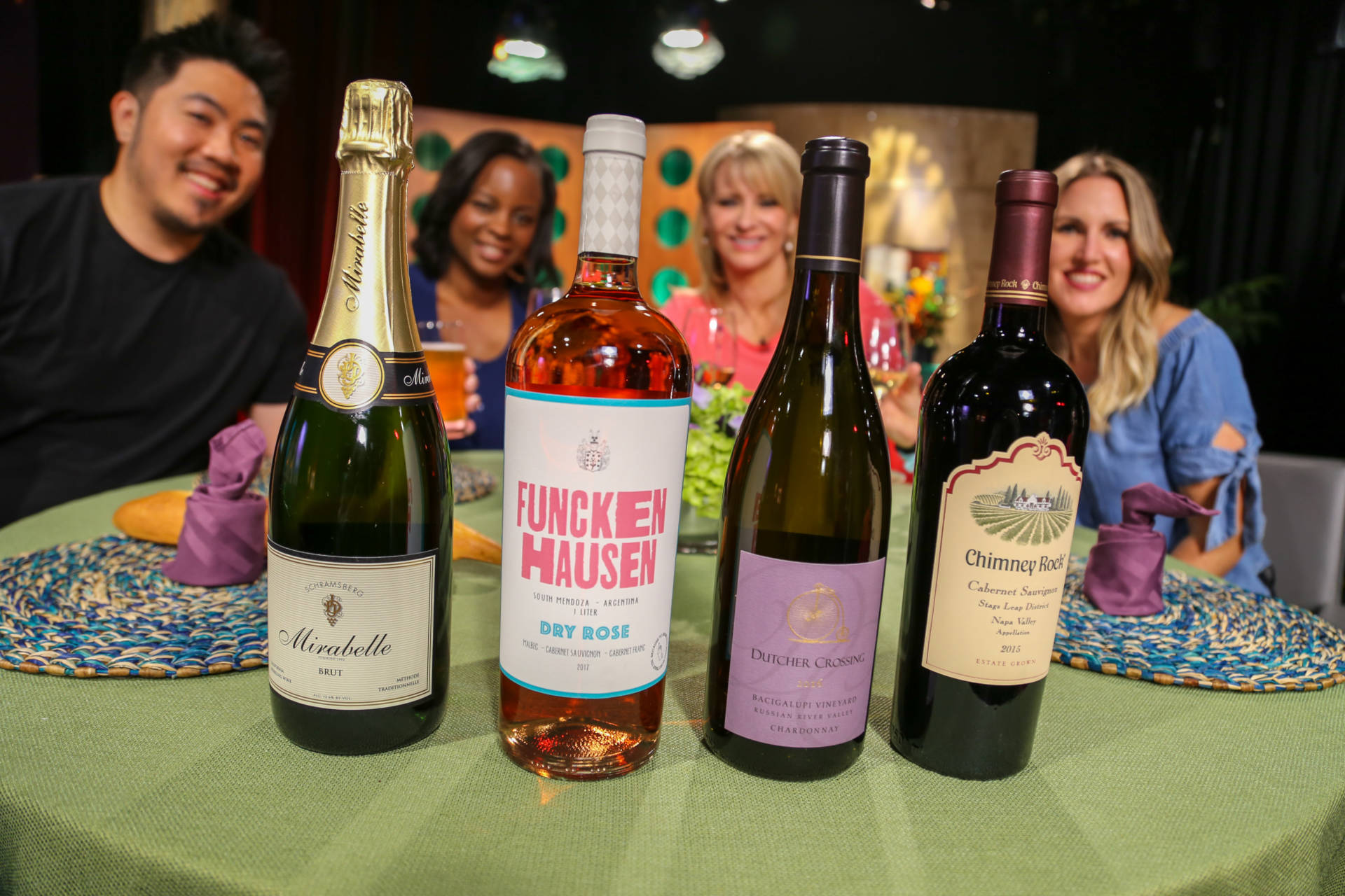 Wine that guests drank on the set of season 13 episode 12.