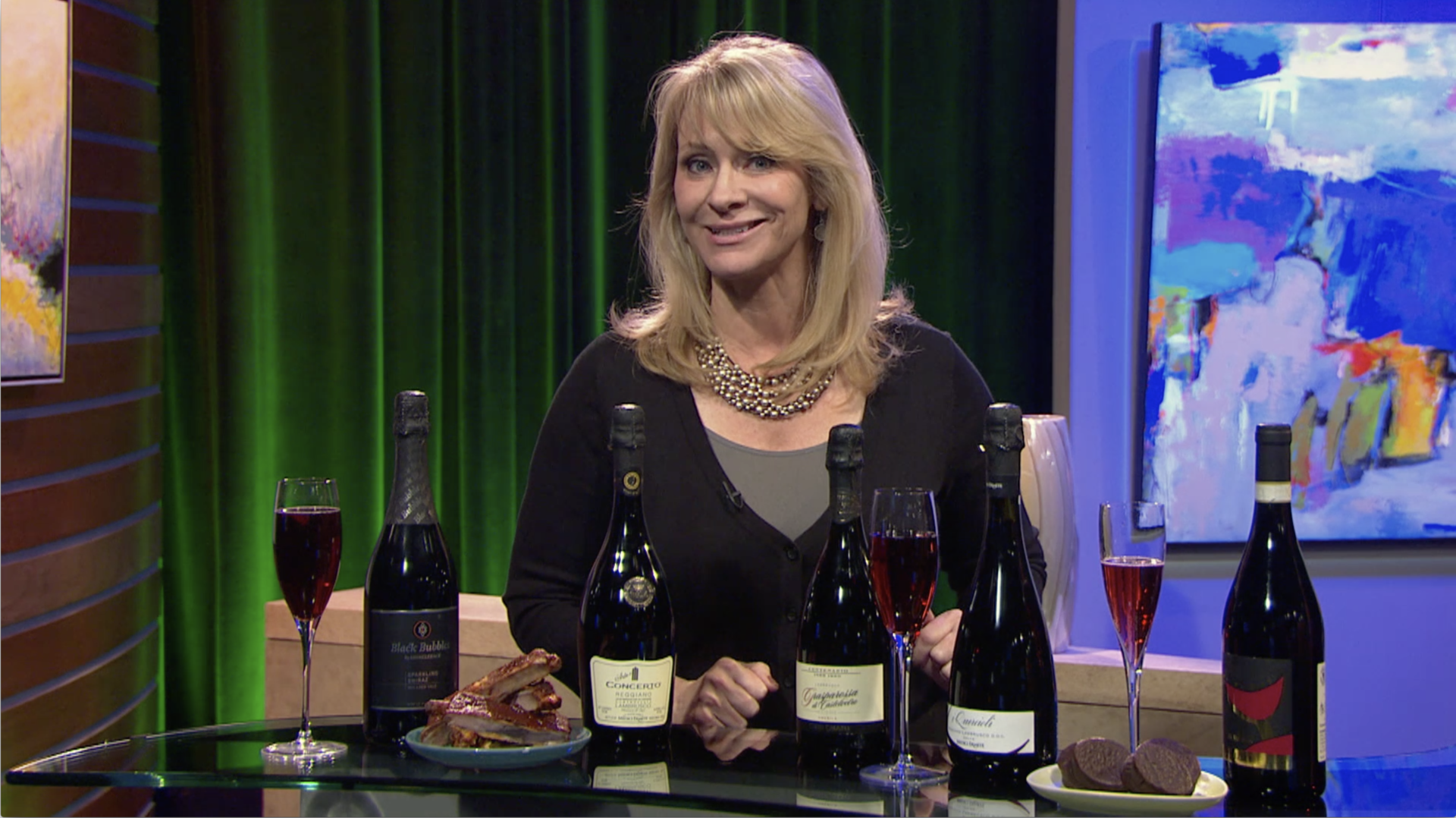 Check, Please! Bay Area host Leslie Sbrocco shares a hot new trend: sparkling red wines.