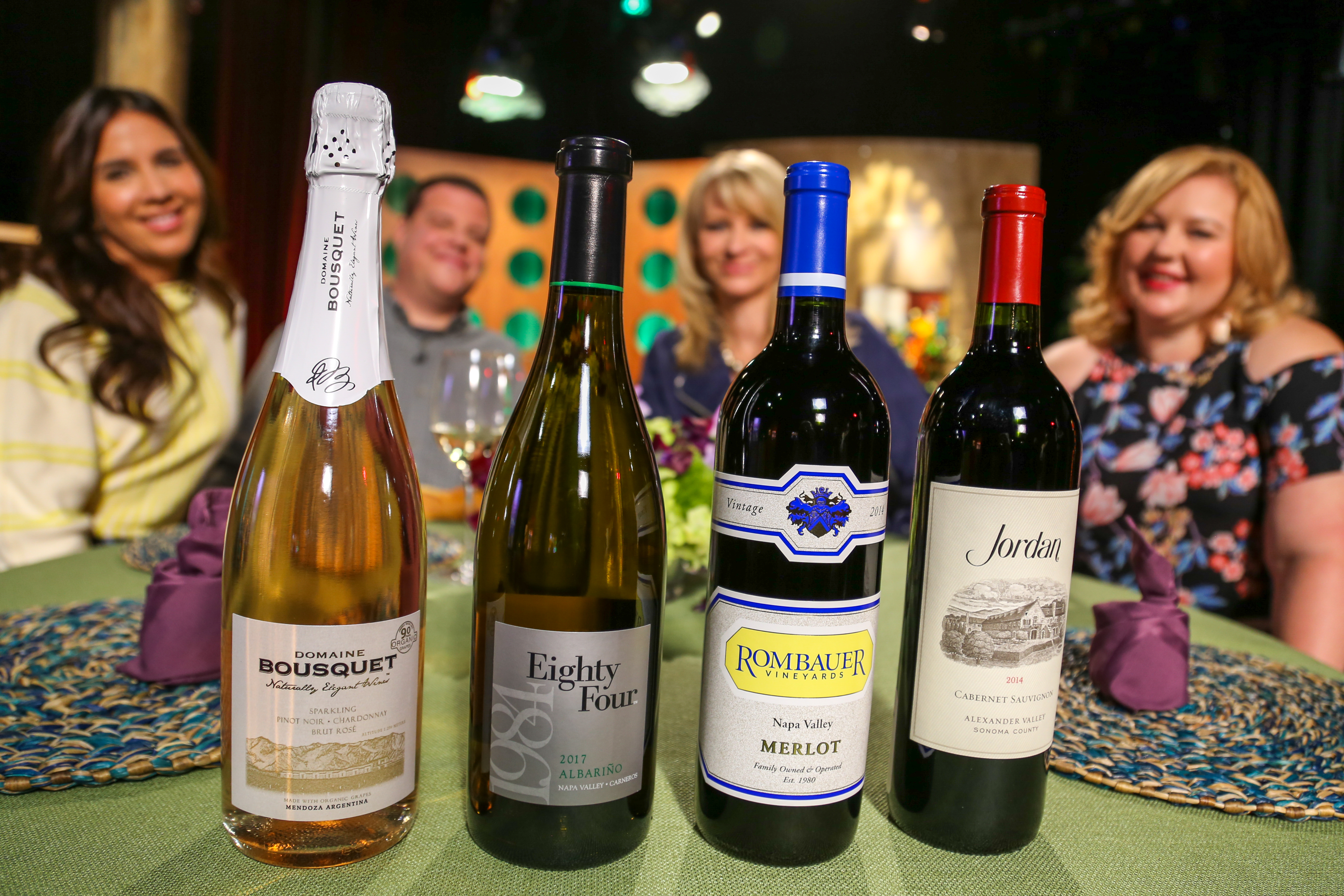 Wine that guests drank on the set of season 13 episode 13.