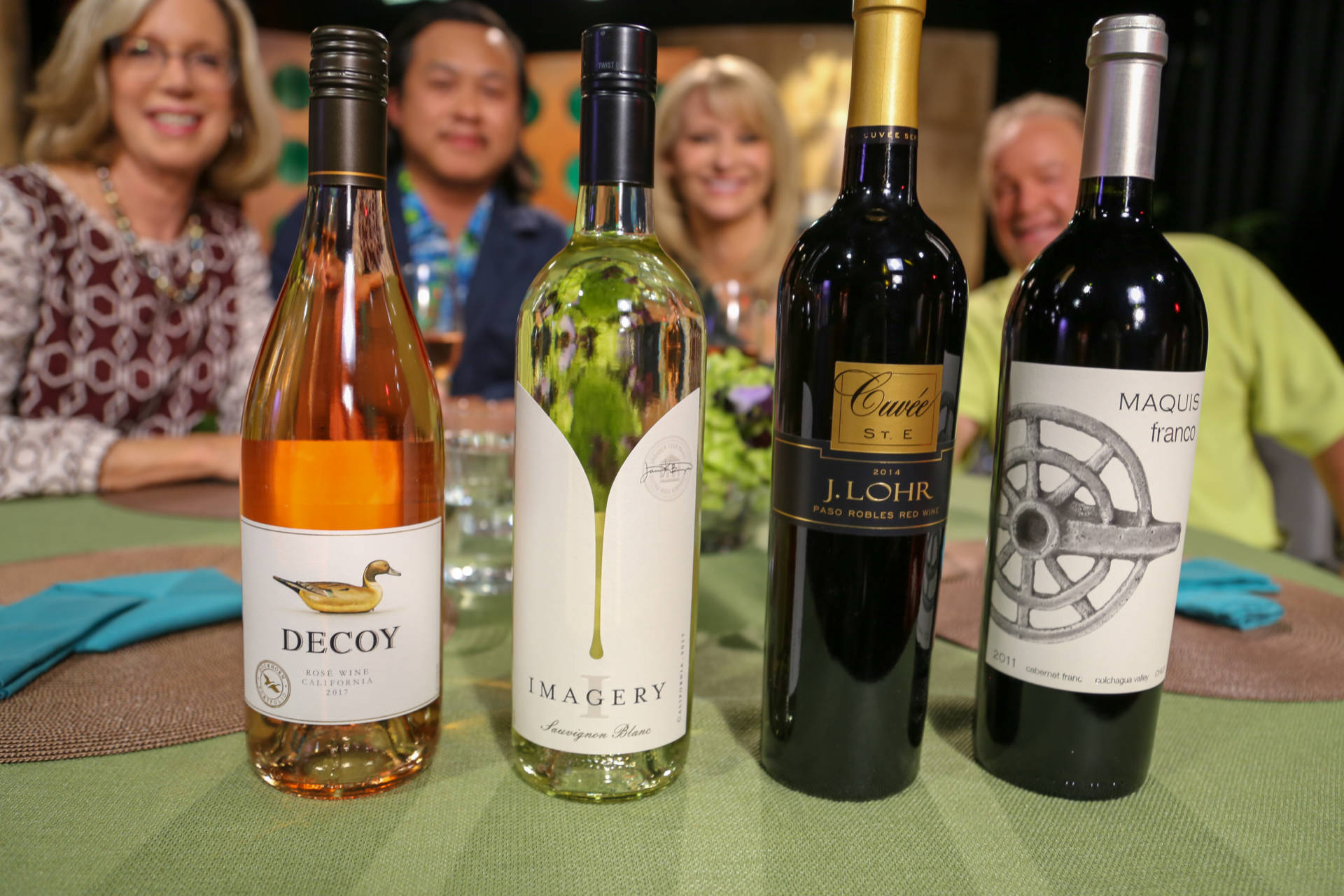 Wine that guests drank on the set of season 13 episode 15.