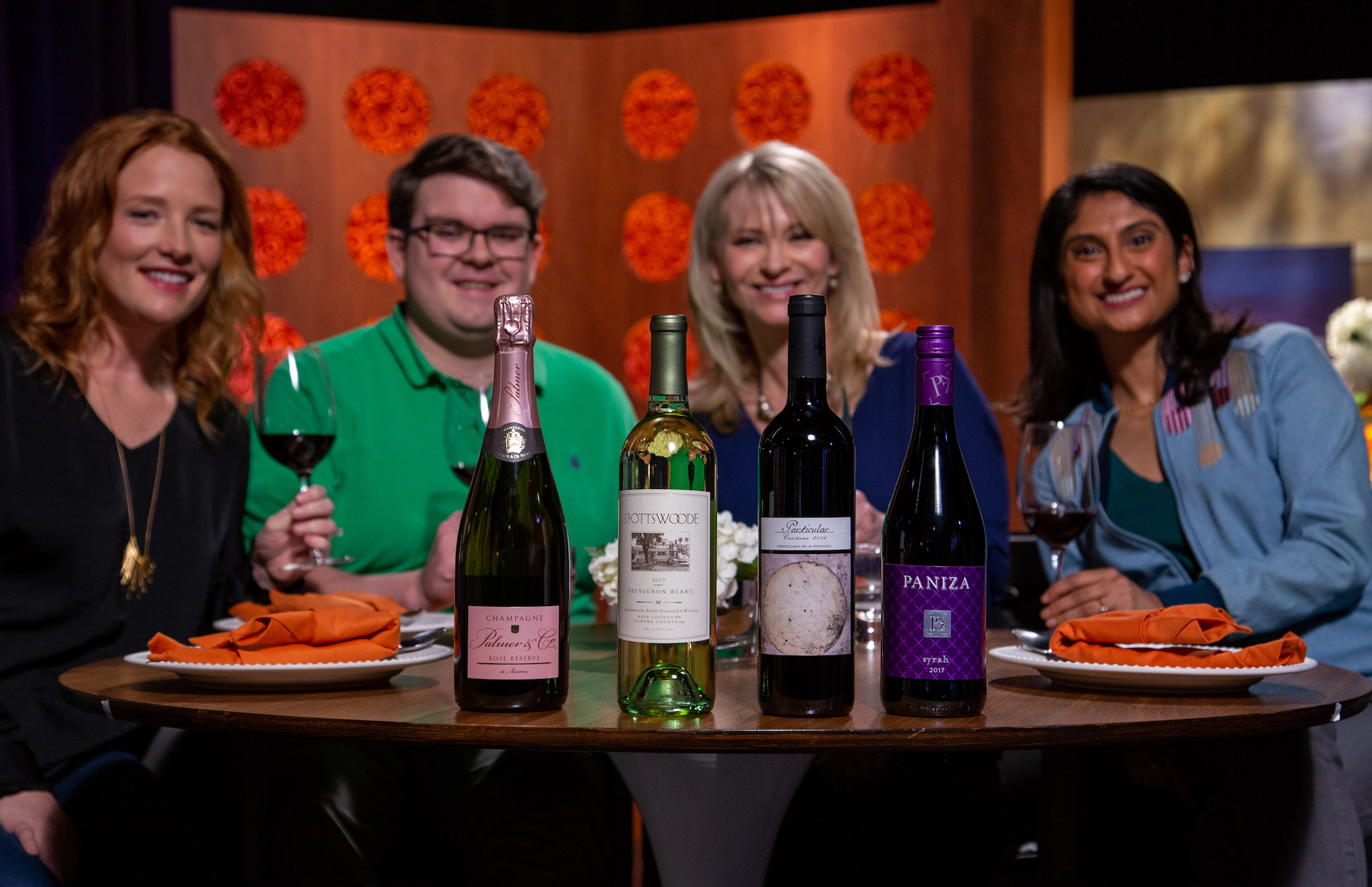 Wine and spirits that guests drank on the set of season 14 episode 6.