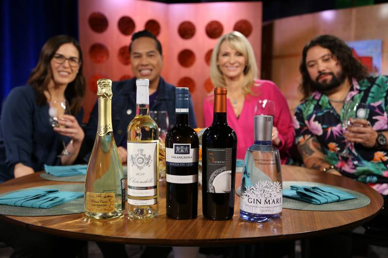 Wine and spirits guests drank on the set of season 15 episode 4.