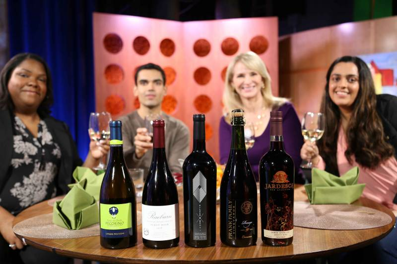 Shows the wines Leslie Sbrocco recommends