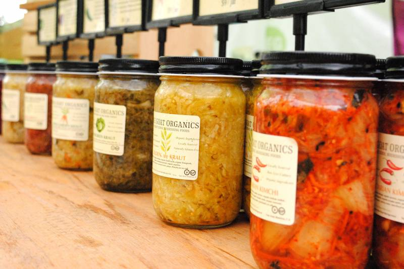 hether kraut, kimchi, miso, or koji, fermented foods boast an array of probiotic benefits to support your gut health.