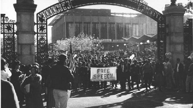 UC Berkeley Commemorates the 50th Anniversary of the Free Speech Movement