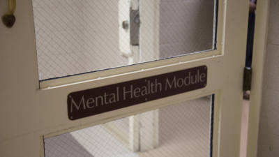 Sonoma County Main Jail's acute mental health unit.