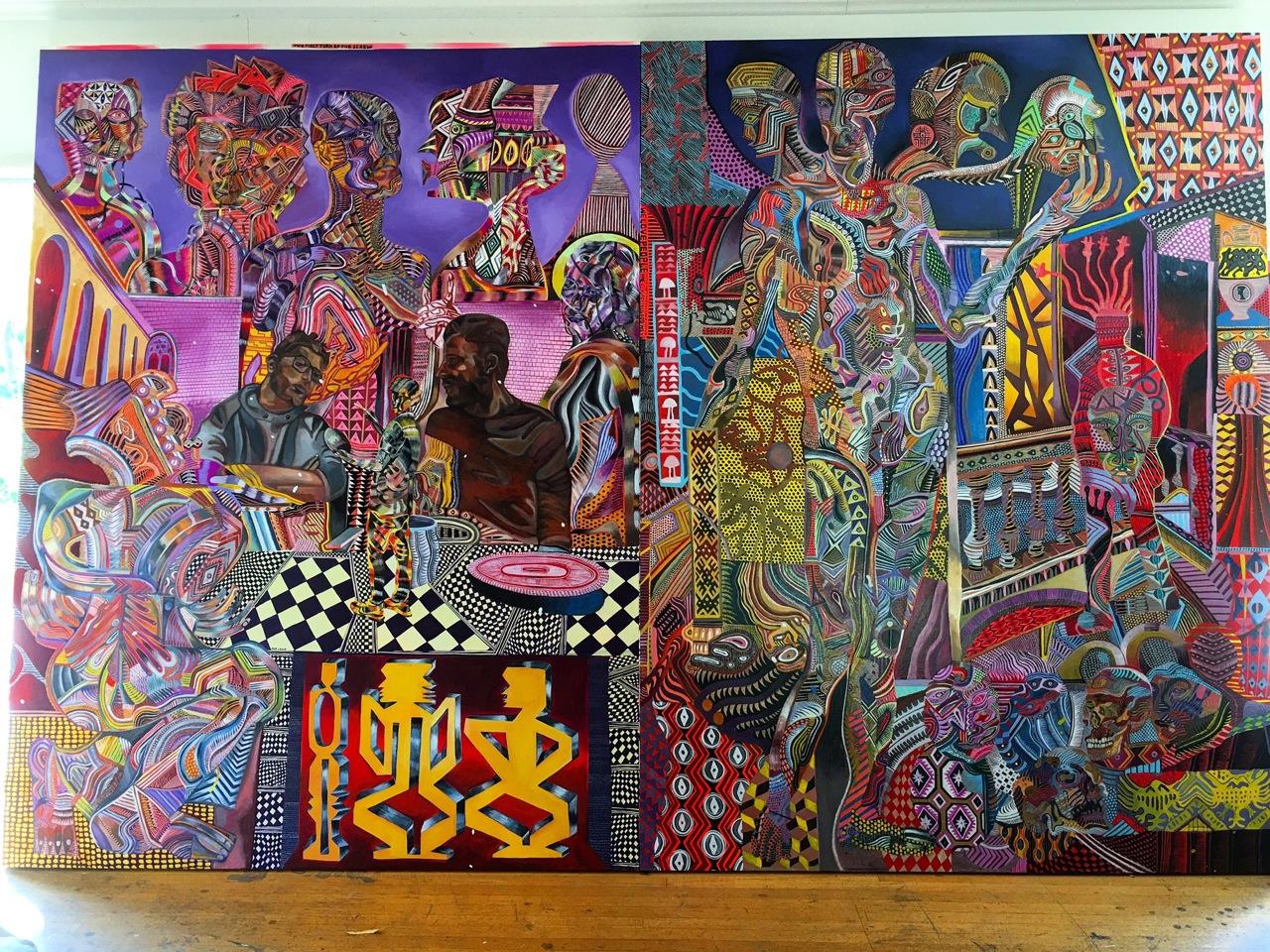 Murals by Zio Ziegler