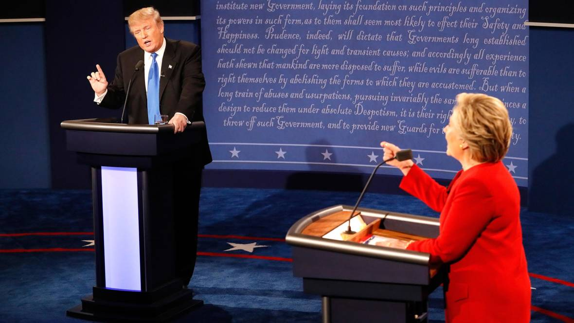 All Eyes on Clinton vs. Trump in First Debate