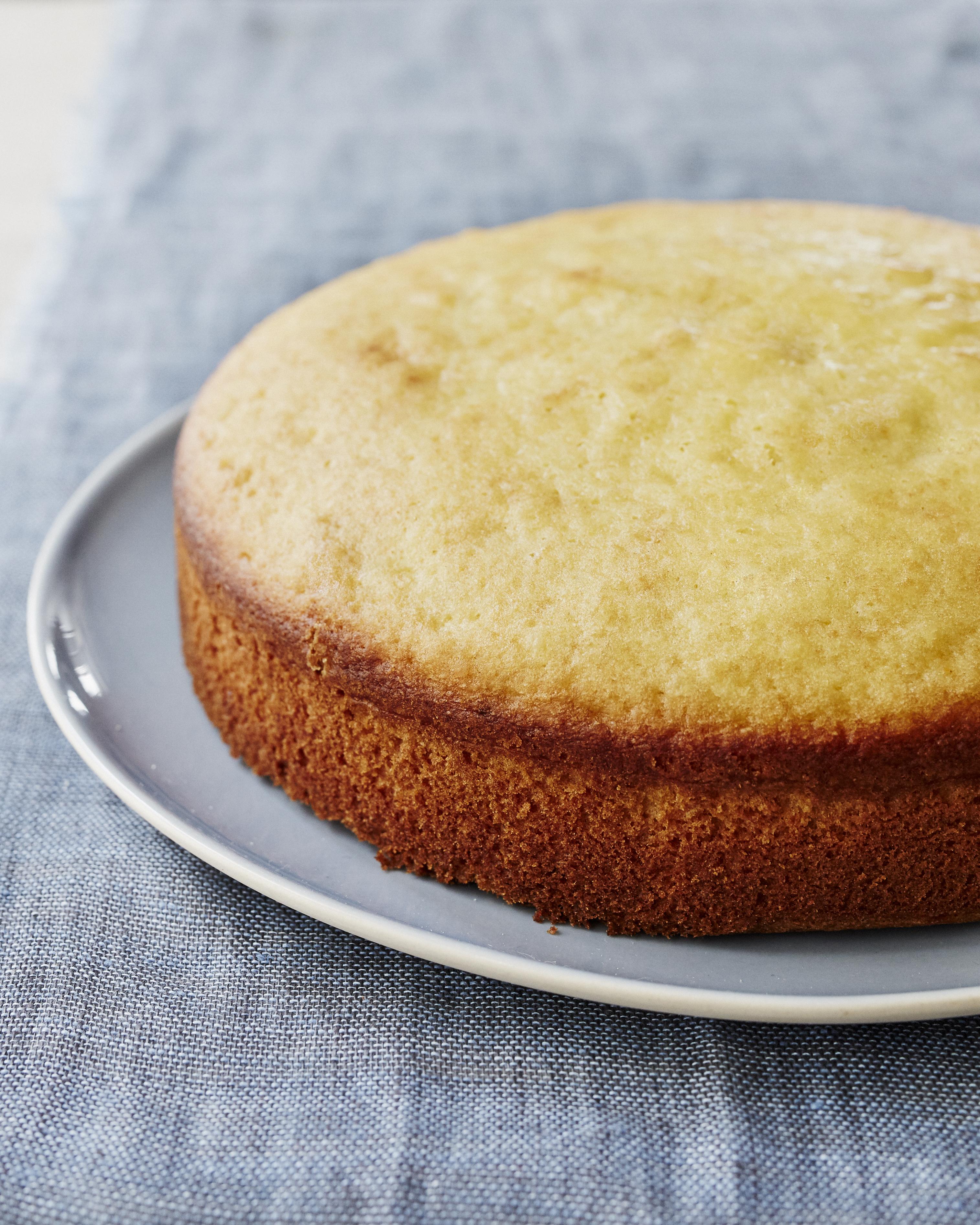 Olive oil cake no glaze