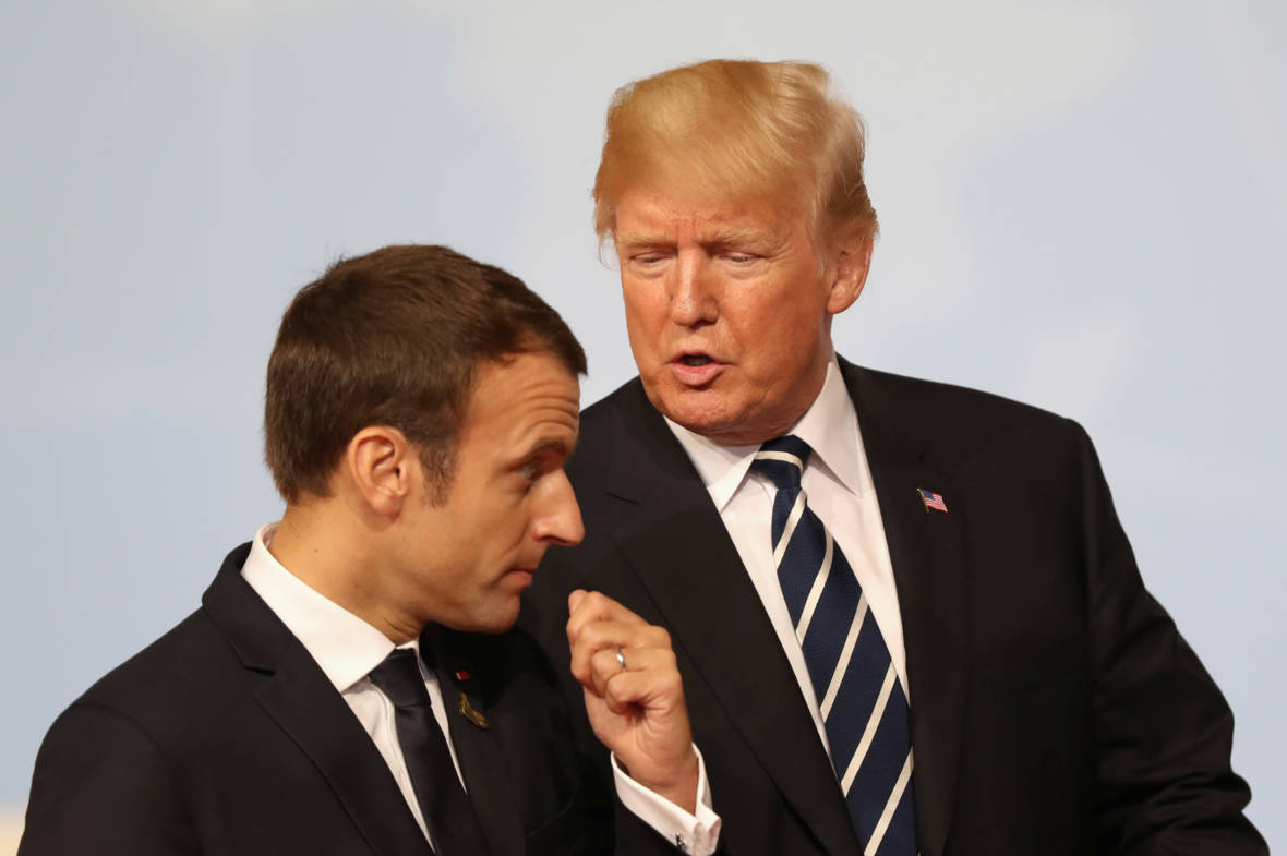 President Trump Meets with French President Emmanuel Macron