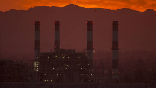 The gas-powered Valley Generating Station is seen in the San Fernando Valley on March 10, 2017 in Sun Valley, California.