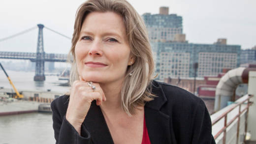 Jennifer Egan poses for a portrait.