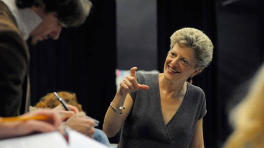 ACT artistic director Carey Perloff.