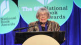 Ursula K. Le Guin attends 2014 National Book Awards on November 19, 2014 in New York City.
