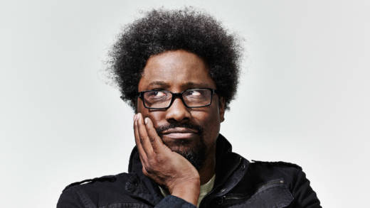W. Kamau Bell poses for a photo