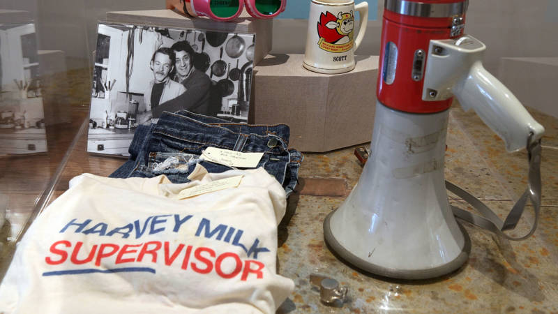 New Biography Explores The 'Lives' of Harvey Milk