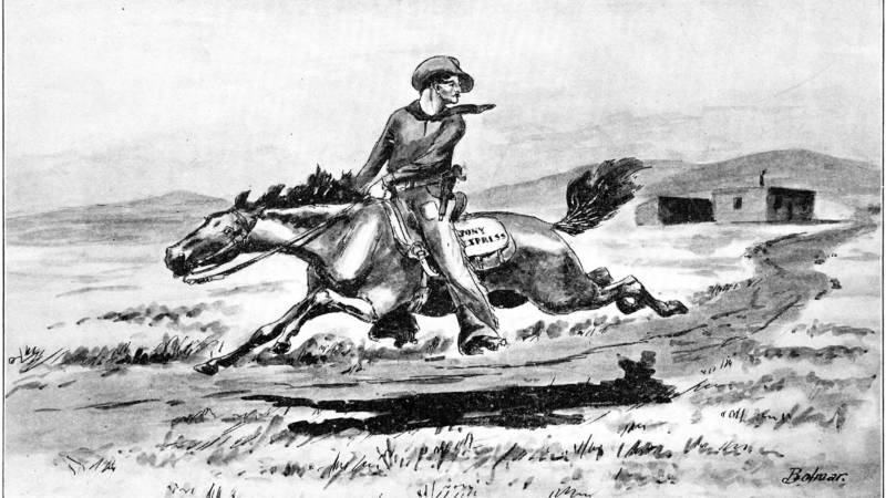 Jim DeFelice on 'The Brief Legendary Ride of the Pony Express'