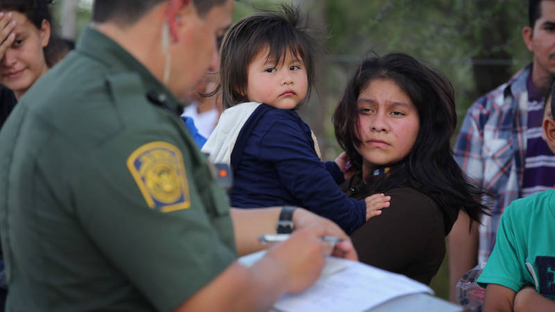 Toddlers and Babies Separated from Migrant Parents Held in 'Tender Age' Shelters