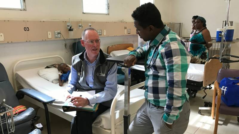 Amidst Ebola Crisis, Dr. Paul Farmer Calls for 'Care Along With Containment'