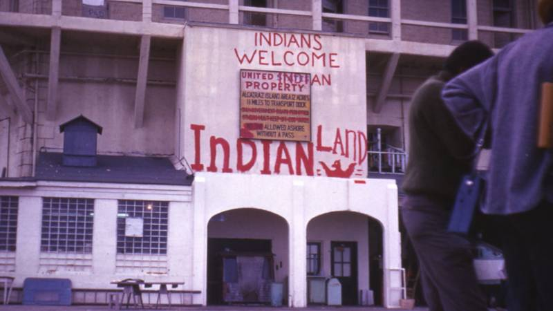Native Activists Mark the Occupation of Alcatraz 50 Years Later