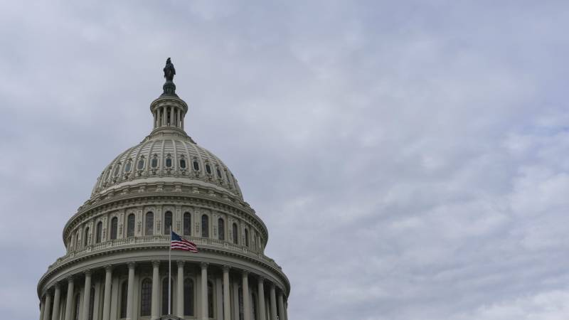 Picture of the dome of the U.S. Capitol.