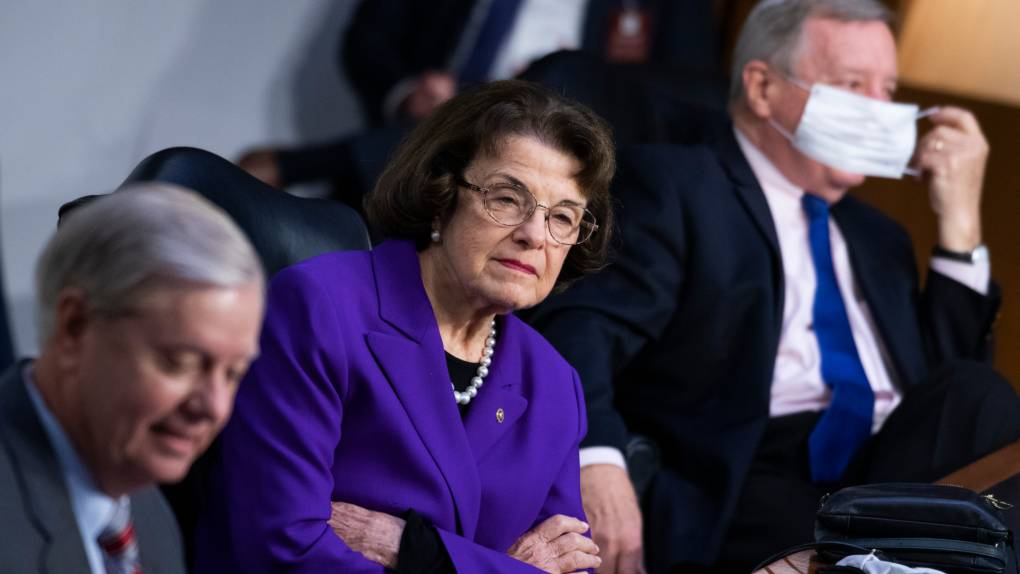 Sen. Feinstein Draws Criticism from Democrats for Role in Supreme Court Hearings - KQED