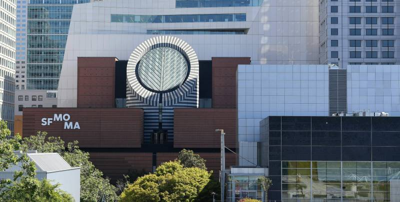 The San Francisco Museum of Modern Art (SFMOMA) building