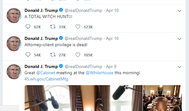 Fresh Air: All The President's Tweets