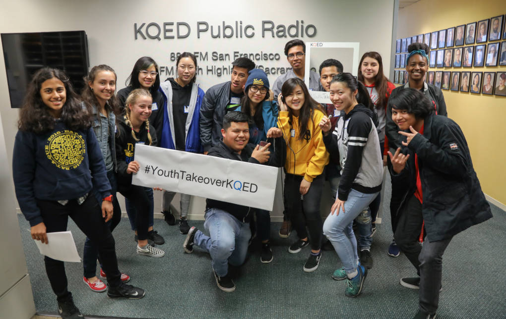 Youth Takeover Week at KQED