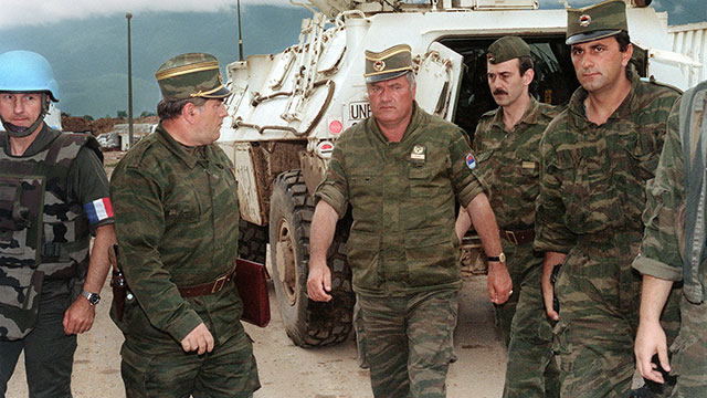 FRONTLINE: The Trial of Ratko Mladic