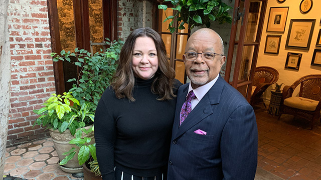 Henry Louis Gates, Jr. and Melissa McCarthy