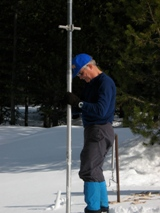 Frank Gehrke at Tamarck Flat last winter.
