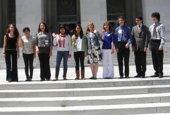 California's 2009 Climate Champions in Sacramento. (April 27, 2009)