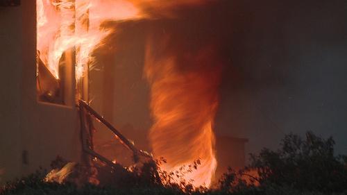 "Santa Barbara ""Fire Devil."" Photo: Tim Walton"