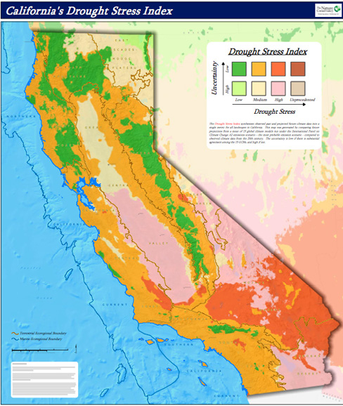 California Climate Map Mapping California's Shifting Climate | Climate Watch California Climate Map