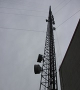 This tower in Walnut Grove is decked out with equipment to detect and measure atmospheric gases. Photo: Craig Miller