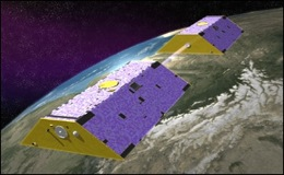 NASA's GRACE satellite is equipped to gather ice and water data on the Earth's surface. Image: NASA