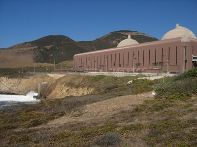 Sea water used for cooling at Diablo Canyon nuclear power plant. Photo: Craig Miller
