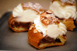 Chocolate Paris-Brest Cake