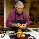 Jacques Pepin making brioche