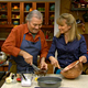 Jacques Pepin and Emily Luchetti bake together in episode 121 of Essential Pepin