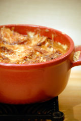 Onion Soup Lyonnaise-Style