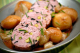 Roast Sausage with Potatoes