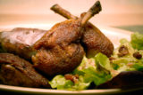 Skillet Duck with Red Oak Salad