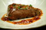 Venison Steaks in Sweet-Sour Sauce
