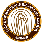 IACP New Media Winner Badge