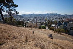 The Starr King Open Space is owned by the neighborhood in Potrero Hill. Photo: Deborah Svoboda/KQED