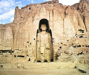 Bamiyan Buddha, 6th Century, Afghanistan. Destroyed by the Taliban, 2001.